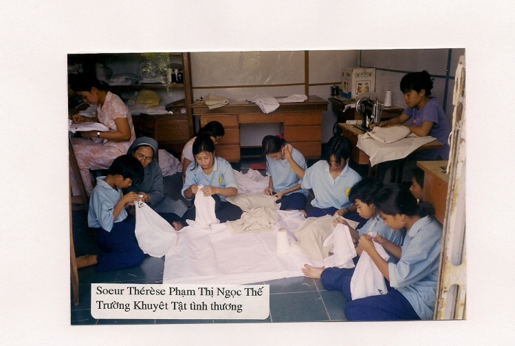 1 Deaf students at TKTTT-Kiên Giang